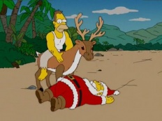 The Simpsons 17x09 : Simpsons Christmas Stories- Seriesaddict